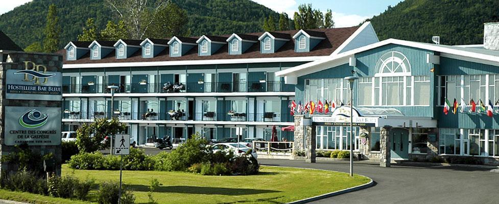 Hotel baie bleue carleton sur mer for Club piscine shawinigan